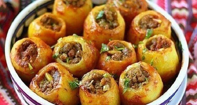 Sycące nadziewane ziemniaki. Niesamowity smak