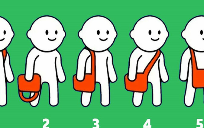 Sposób noszenia torby może wiele powiedzieć o Twojej osobowości