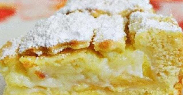 Nieporównalne ciasto kremowe z jabłkami. Ciasto będzie miało niesamowity zapach i smak