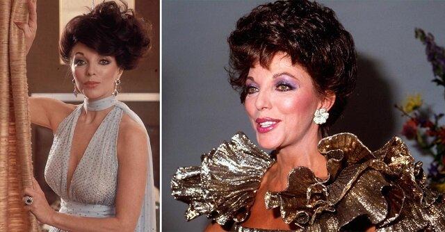 """Gwiazda """"Dynastii"""" Joan Collins i jej życie"""