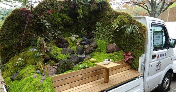 Coś takiego mogli wymyślić tylko w Japonii - fajne mobilne mini ogrody