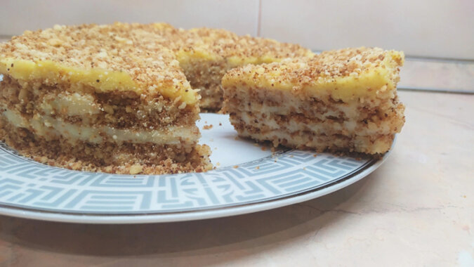 Pyszny i szybki w przygotowaniu tort. Rozpływa się w ustach