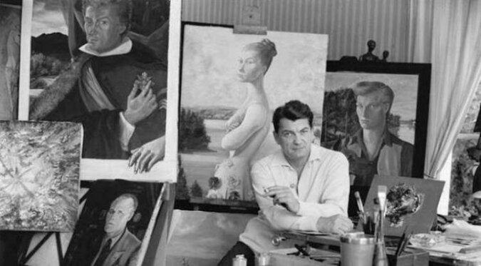 Jean Marais - malarz i rzeźbiarz