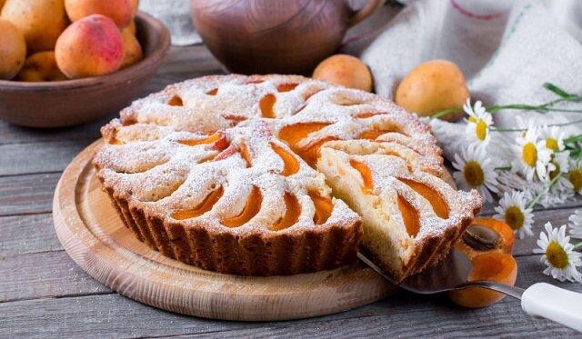 Ciasto z morelami na kefirze
