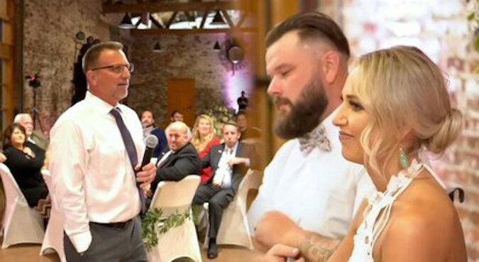 Tata wzruszająco złożył życzenia ślubne córce, która straciła słuch w wypadku. Wideo