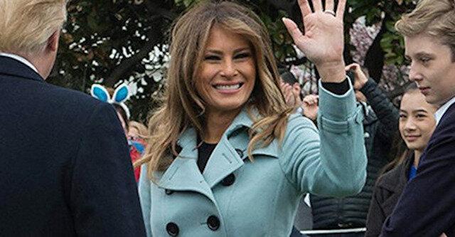 11 niesamowitych zdjęć Melanii Trump w płaszczu, które zainspiruje Cię do zmiany wyglądu