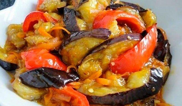 Lekka przekąska – bakłażan w słodko-kwaśnym sosie
