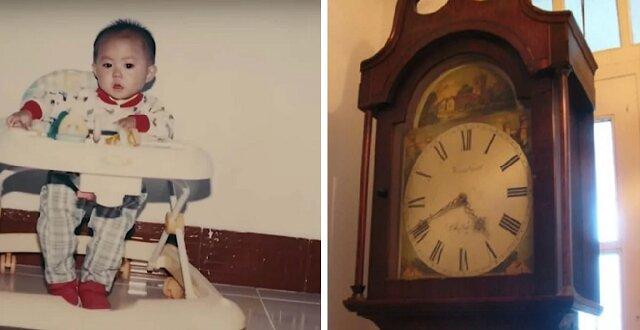 Młoda para adoptowała dziewczynkę i zauważyła, że ona dziwnie się zachowuje, gdy słyszy bicie zegara