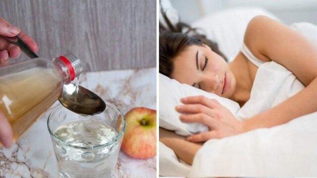 Wymieszaj ocet jabłkowy z miodem i wypij przed snem. Efekt cię zadziwi