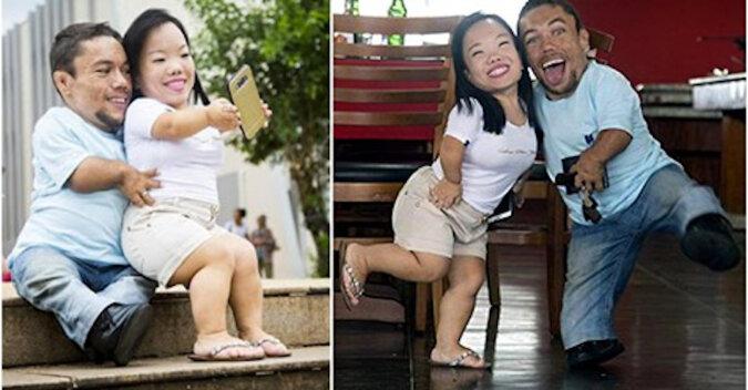 Wielka miłość małych ludzi: historia niezwykłego, ale bardzo silnego małżeństwa