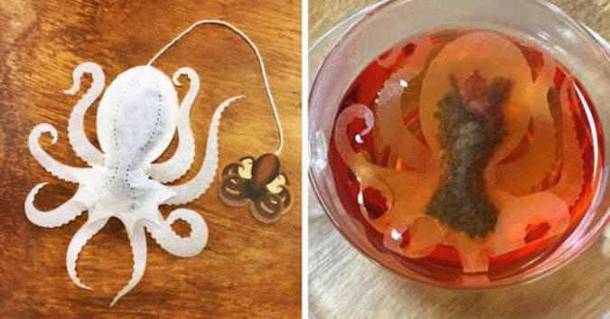 Firma stworzyła oryginalne torebki herbaty w postaci stworków, które potrafią zaskoczyć i jednocześnie  przestraszyć gości