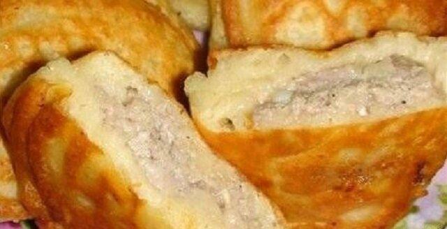 Szybkie i smaczne paszteciki z mięsem mielonym na kefirze