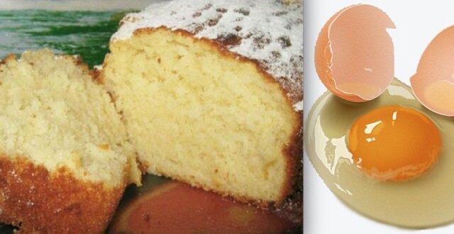 """""""Słoneczne"""" ciasto waniliowe na kefirze. Palce lizać"""