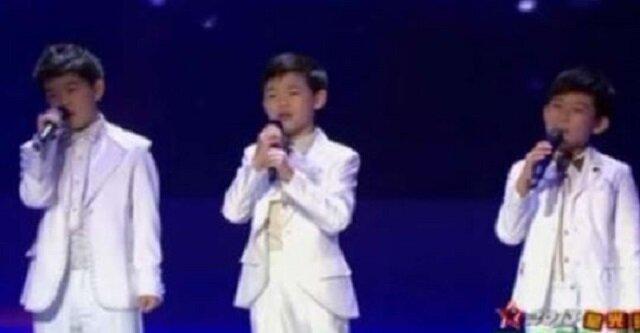 Głos tych 3 chłopców z Chin poruszy Twoje serce. Ich niezwykły występ to ukojenie dla uszu