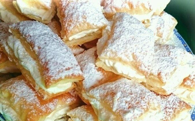 """Wspaniałe ciasteczka """"Napoleony"""". Szybko i smacznie"""