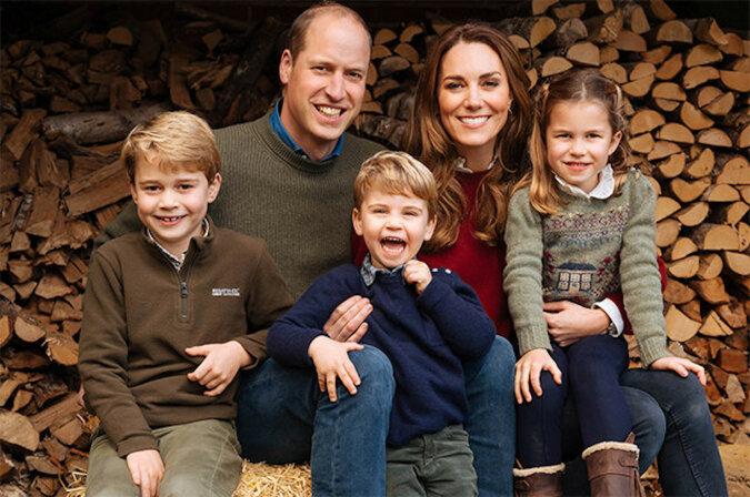 Burgery i frytki: Kate Middleton i książę William z dziećmi poszli na lunch do wiejskiego pubu