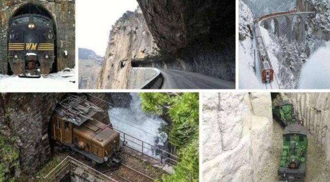 Niesamowite tunele - przerażające i niebezpieczne