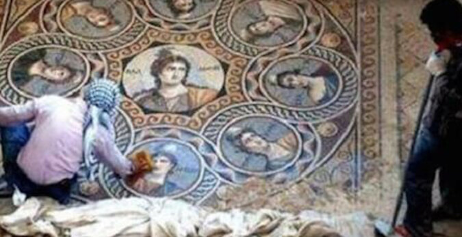 Archeolodzy odkryli unikalne greckie mozaiki, które mają co najmniej 2 tysiące lat