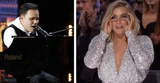 """Pełna emocji melodia niewidomego i autystycznego piosenkarza wzrusza jurorów """"Mam talent"""""""