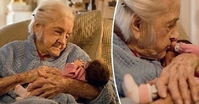 Lekarze powiedzieli, że zostały jej tylko trzy tygodnie. Wiedziała jednak, że doczeka się narodzin swojej praprawnuczki