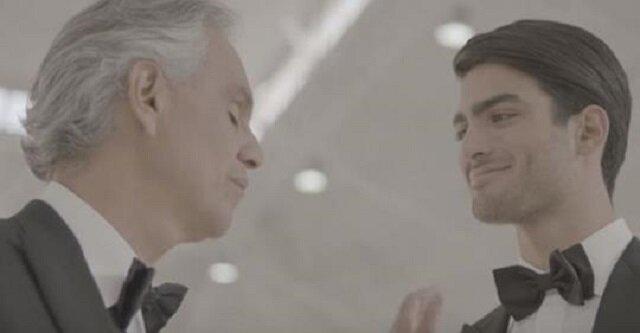 Andrea Bocelli zaśpiewał po raz pierwszy w duecie ze swoim synem. Piosenka zachwyca