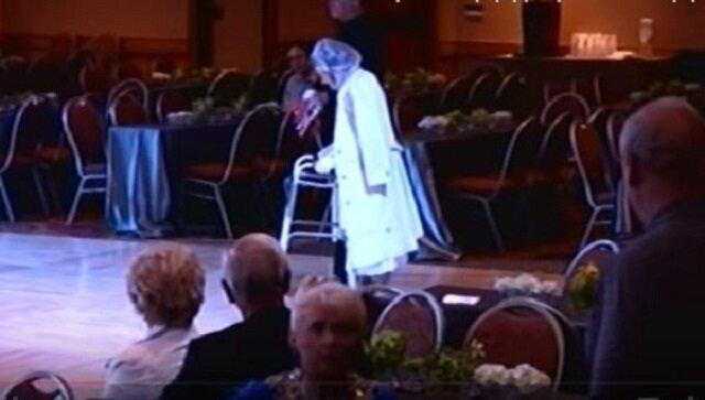 Niesamowity taniec 94-letniej tancerki Matyldy Klein: tańczyła jakby miała 20 lat