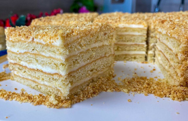 """Ciasto śmietankowe """"wiejskie"""". Proste, szybkie i smaczne"""