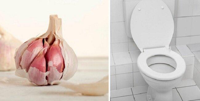 Warto wrzucić czosnek do toalety zanim pójdziesz spać
