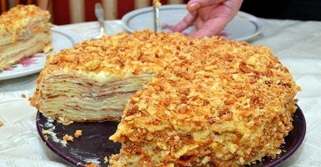 "Sprawdzony przepis na chude ciasto ""Napoleon"""
