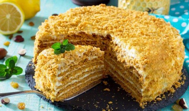 """Domowe ciasto """"Rudzielec"""". Jedno z najbardziej pysznych i ulubionych ciast"""