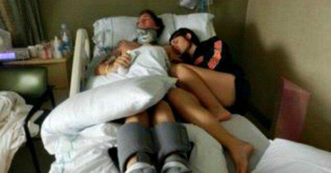 Żona nie zgadza się na odłączenie męża od respiratora. 3 miesiące później słyszy od niego te dwa słowa