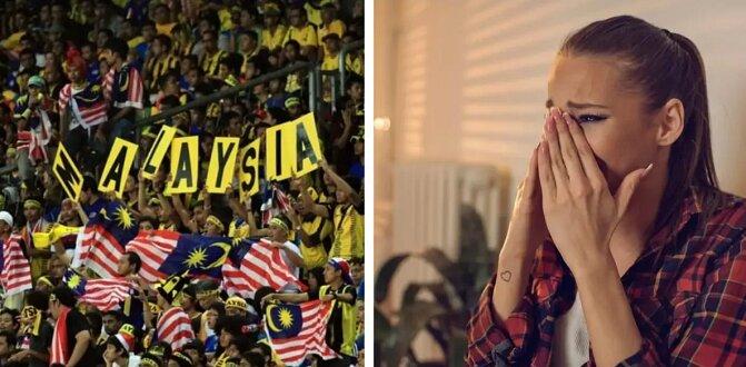 Mąż odmówił pójścia z żoną na stadion i obejrzenia meczu piłki nożnej. Ale potem żona zobaczyła zdjęcie ze stadionu