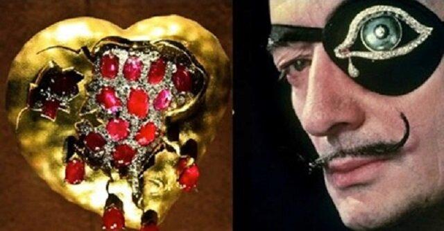 Arcydzieła biżuterii autorstwa Salvadora Dali