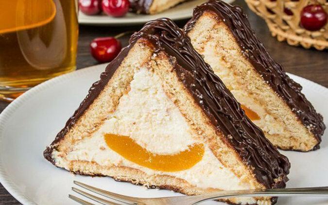 """Tort """"Chatka miłości"""" bez pieczenia. Całkiem łatwy w przygotowaniu i bardzo pyszny"""