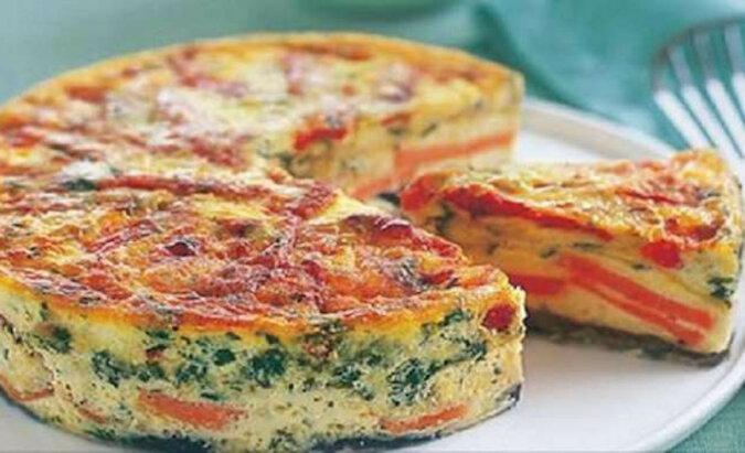 Frittata - włoski omlet. Pyszne śniadanie