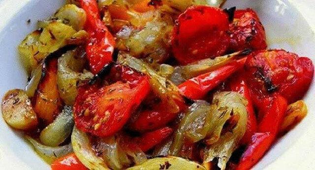Warzywa zapieczone w marynacie – bardzo smaczne