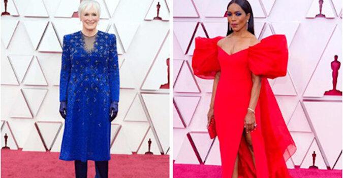 Falbany, falbanki i cięcia: intrygujące i ekstrawaganckie kreacje na rozdaniu Oskarów 2021