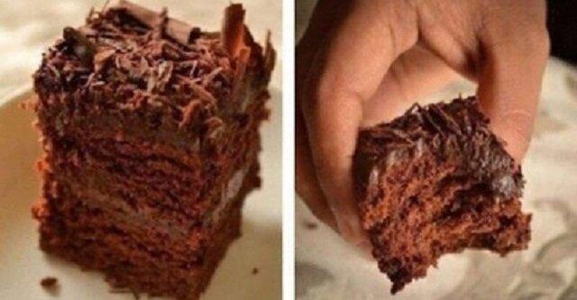 Ciasto bez jajek: super wilgotne ciasto czekoladowe