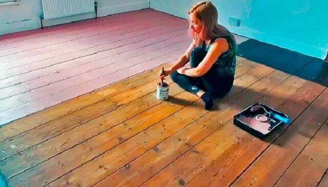 Dziewczyna w 6 dni zamieniła brzydki salon w luksusowy pokój