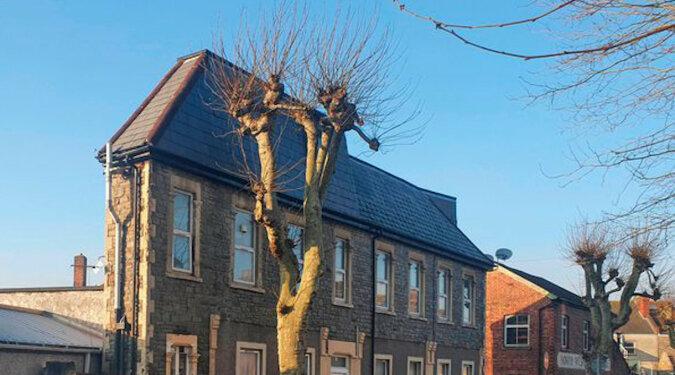 W Bristolu jest jeden z najdziwniejszych domów. Wydaje się, że jest bardzo wąski i nie da się w nim mieszkać