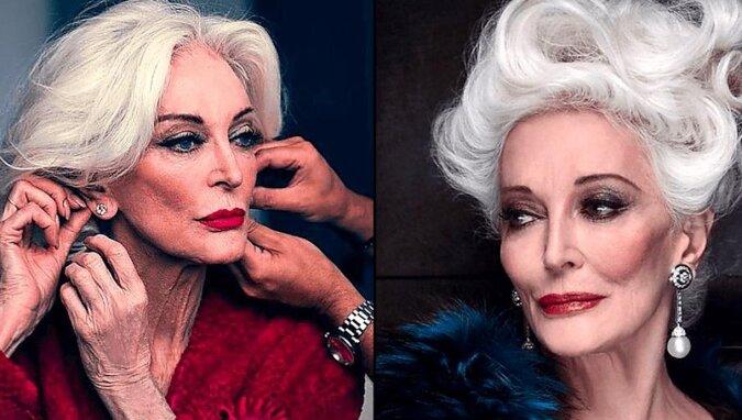 88-letnia popularna modelka pokazała swoje zdjęcia z czasów młodości