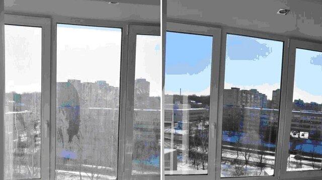 Nowy sposób mycia okien. Okazały się czyste i bez smug, kurz i brud na oknach, już nie siada