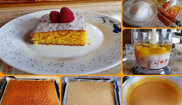 Brazylijskie ciasto marchewkowe. Lekkie i delikatne