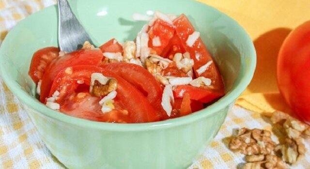 Najsmaczniejsza ormiańska sałatka z pomidorów