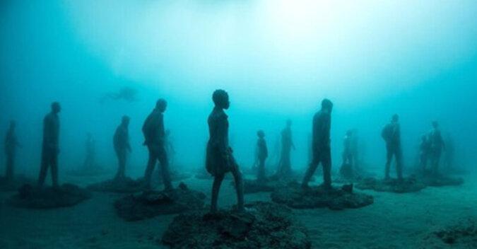 Ciche, ale wymowne postacie na dnie oceanu