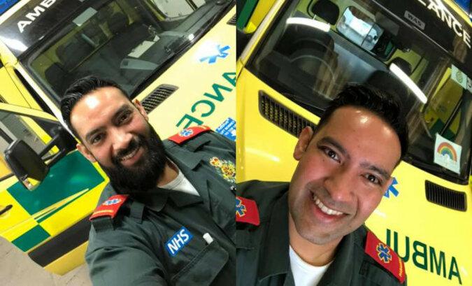 By móc ratować życie ludzi, lekarz muzułmanin zgolił brodę, którą nosił od ponad 10 lat