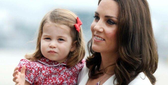 """""""Moja córka jest podobna do mnie!"""": Charlotte odziedziczyła niezwykłe nawyki Kate Middleton"""