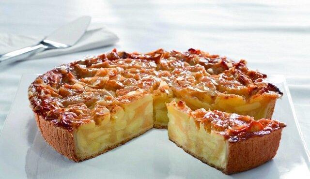 Wiedeńskie ciasto jabłkowe. Pycha