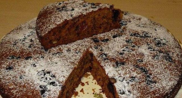 Błyskawiczne ciasto, gdy goście są u progu. Bardzo szybko się przygotowuje i tak szybko się zjada
