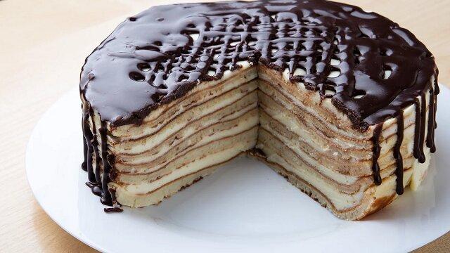 """Ciasto bez pieczenia """"Największa łatwość"""". Pycha"""